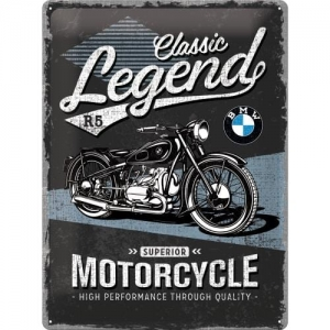 Plakat/tablica metalowa 30 x 40 cm BMW Classic Legend