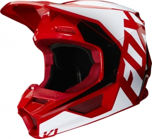 Kask FOX V-1 PRIX FLAME RED