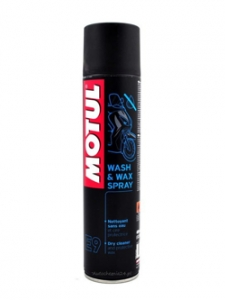 MOTUL Wash & Wax E9 Spray 400 ml